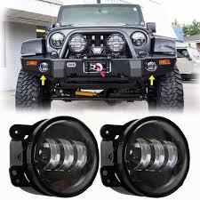 led lights for jeep wrangler 2pcs 4 inch 30w led fog lights projector for jeep led fog ls for