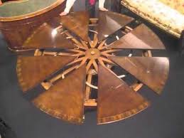 expandable round table shelby knox