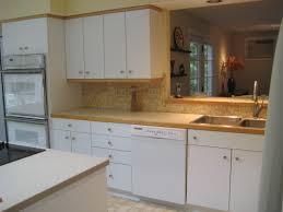 White Laminate Kitchen Cabinet Doors White Laminate Kitchen Cabinets With Oak Trim Kitchen Cabinet