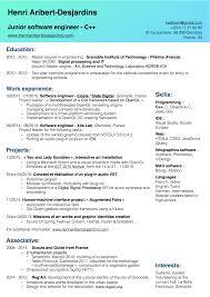 Resume Additional Information Henri U0027s