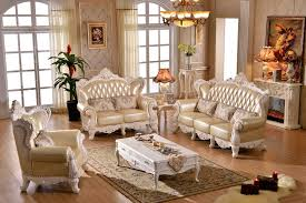 Large Living Room Furniture Style Sofa Large Living Room Leather Sofa Combination Solid Wood