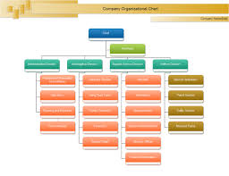 template organizational chart chief org chart templates and exles