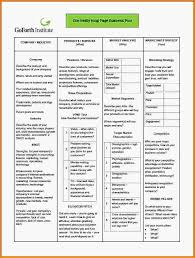 one page business plan template one page business plan template