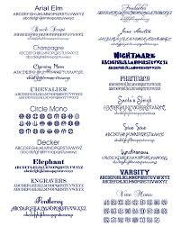 monogrammed fonts monogram etiquette and fonts me re design