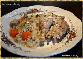 cuisiner poule poule au riz à ma façon la cuisine de lilly