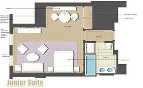 luxury executive hotel room the langham sydney