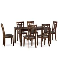 delran 7 piece dining room furniture set created for macy u0027s