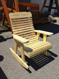 Unfinished Wood Rocking Chair Pine Rockers U0026 Benches Amish Traditions Wv