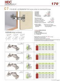 170 degree cabinet hinge 165 degree 170 degree fgv style slide on standard cabinet hinge by