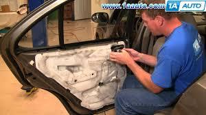 nissan sentra quarter panel how to install replace rear inside door handle nissan sentra 00 06