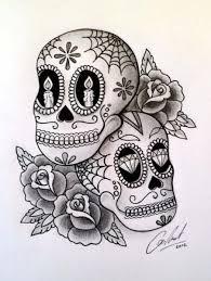 sugar skull design big tattoo planet community forum