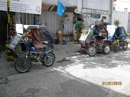 philippines pedicab rickshaws pedicabs a widespread means of public transport in