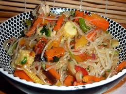 recette cuisine chinoise recette salade chinoise poulet vermicelles de soja cuisinez