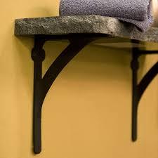 installing rustic shelf brackets u2014 the homy design