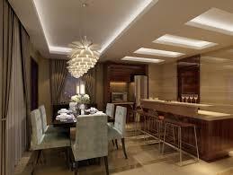 Le Plafond Lumineux Jolis Designs De Faux Plafonds Et D - Modern ceiling lights for dining room
