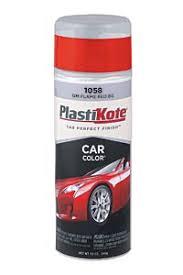 car color spray automotive touch up plastikote paint products