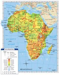 africa is broken into many different regions sahara sah