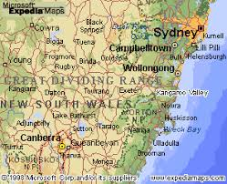 map of new south wales kangaroo valley new south wales australia