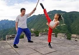 smith backdrop jaden smith jackie chan put real kick into karate kid remake
