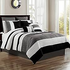 comforters black white comforters bed comforter sets bed bath