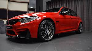 red bmw bmw m3 ferrari red decked with m performance goodies