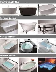 Best Acrylic Bathtubs Bathtubs Cozy Acrylic Bathtub Brands Reviews 19 Deco Tub Spout