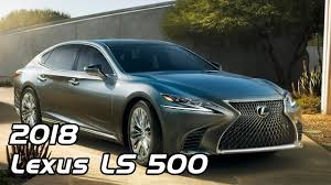 lexus ls interior 2018 2018 lexus ls 500 interior exterior and drive youtube
