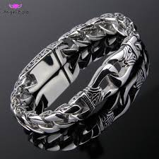 aliexpress buy new arrival cool charm vintage fashion new stainless steel charm bracelet men vintage totem mens