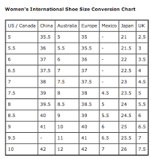 womens ugg boots size guide womens international shoe size conversion the barn family shoe store