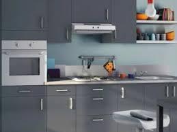 cuisine gris et bleu cuisine gris et bleu cuisine grise anthracite en i aux