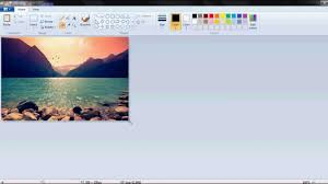 how to use m s paint tools youtube