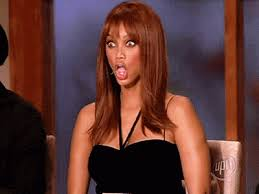 Tyra Banks Meme - nice bra meme tyra banks makes the craziest faces and that s why