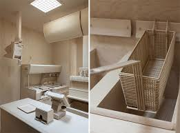 Fast Food Kitchen Design Carcass Roxy Paine U0027s Fast Food Kitchen Carved Entirely From Wood
