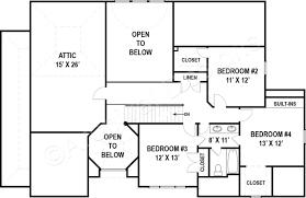 Attic Floor Plans by Leland Traditional Floor Plans Luxury Floor Plans