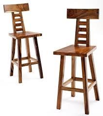 bar stool design contemporary rustic furniture bar stool design 3 wood chairs