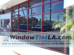 light blocking window film extreme 40 and blackout window film installed in los angeles gas