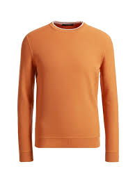 orange sweater sweaters and cardigans for knitwear collection zegna
