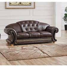 Brown Leather Sleeper Sofa Leather Sleeper Sofa Shop The Best Deals For Dec 2017