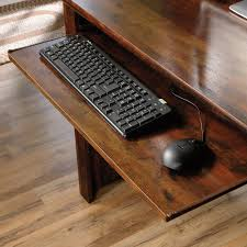 harbor view computer desk with hutch 420475 sauder