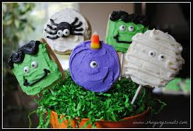 Decorated Halloween Sugar Cookies by Monster Sugar Cookies Shugary Sweets