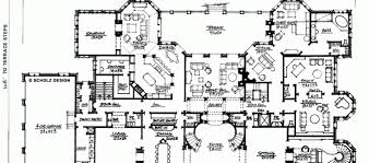 Big Houses Floor Plans Modern Mansion House Plans