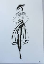 how to draw a fashion illustration draw a dress fashion design