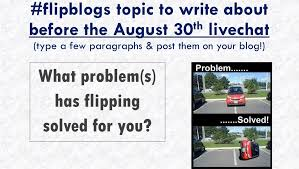flipblogs an extended online flipped learning conversation
