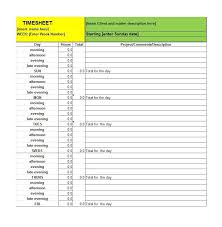 Excel Timesheet Template With Formulas 41 Free Timesheet Card Templates Free Template Downloads