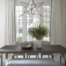 White Curtains With Blue Trim White And Blue Dining Room Curtains Design Ideas