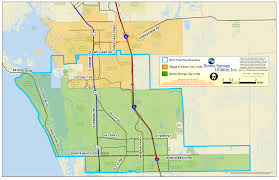 Bonita Springs Florida Map by Service Area Map Bonita Springs Utilities