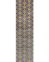 Yellow And Grey Runner Rug Surprise 20 Off Porch U0026 Den Marigny Touro Trellis Grey Yellow