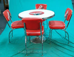 coca cola table and chairs coca cola table and chair coca cola diner style table 4 chairs