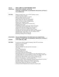Field Technician Resume Sample by Free Download Field Operations Technician Resume Template With