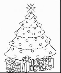 coloring pages of presents outstanding disney christmas coloring pages with christmas tree